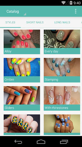 Nails Manicure Catalog