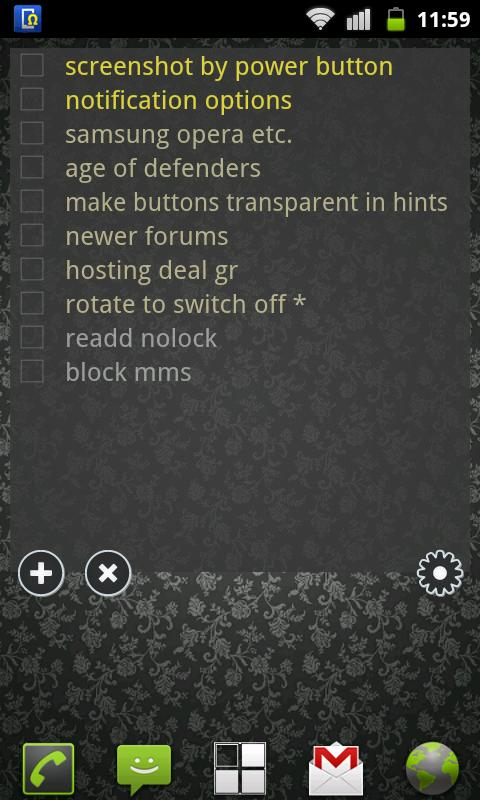To Do List Widget Lite - screenshot