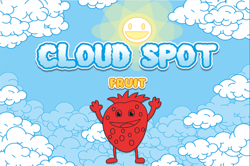 Cloud Fruits Puzzle for Kids