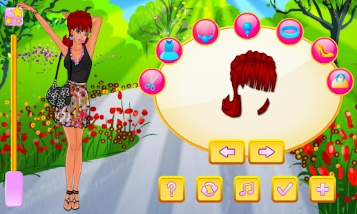 Flower Love Dress Up - screenshot thumbnail