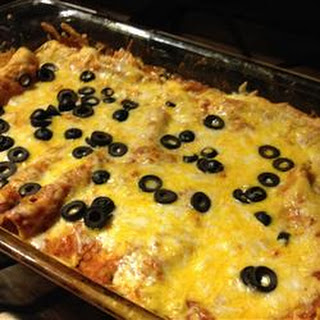 Cheese Enchiladas.