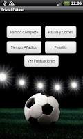Screenshot of Trivial Fútbol