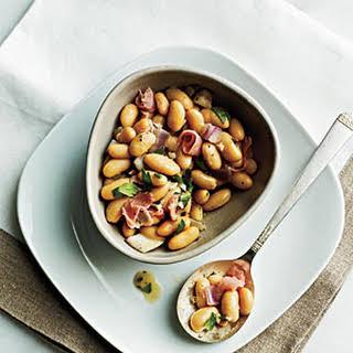 White Beans with Prosciutto.