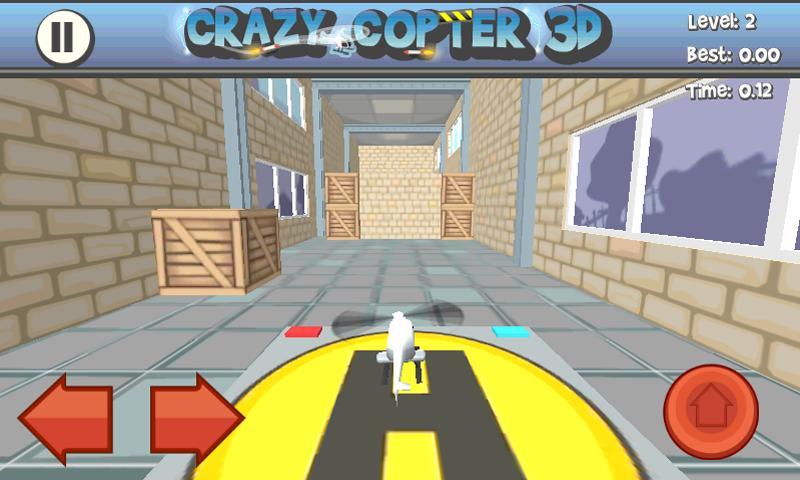 Paper Glider Crazy Copter 3D - screenshot