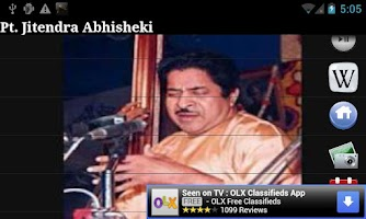 Screenshot of Pt. Jitendra Abhisheki