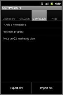 SecretVaultpro- screenshot thumbnail
