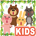 Animal Sounds Kids Book Child icon