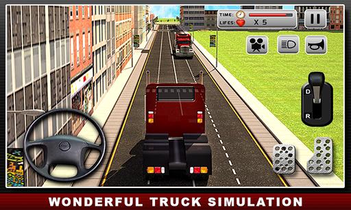 リアルトラックシミュレータ:ドライバ