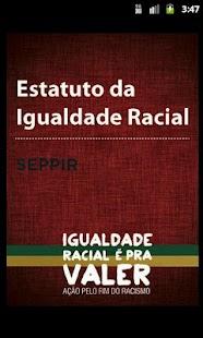 Estatuto da Igualdade Racial- screenshot thumbnail