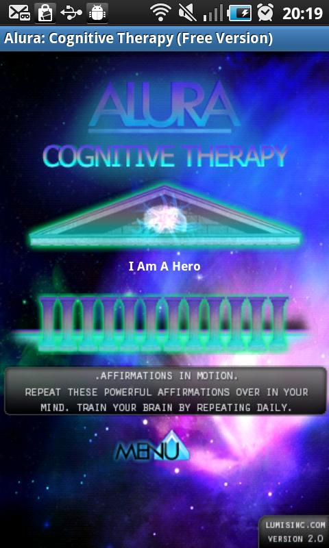 Alura: Free Cognitive Therapy- screenshot