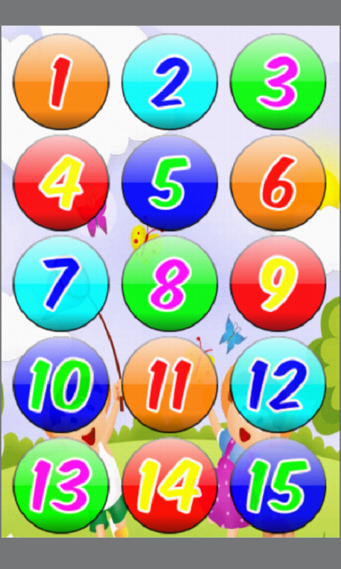 Numbers for Kids, Learn 123- screenshot