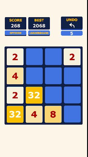 2048 Blue