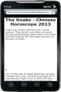 Chinese Horoscope 2013 - screenshot thumbnail