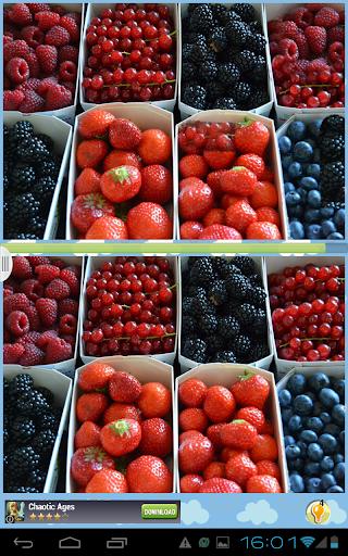 水果寻找差异
