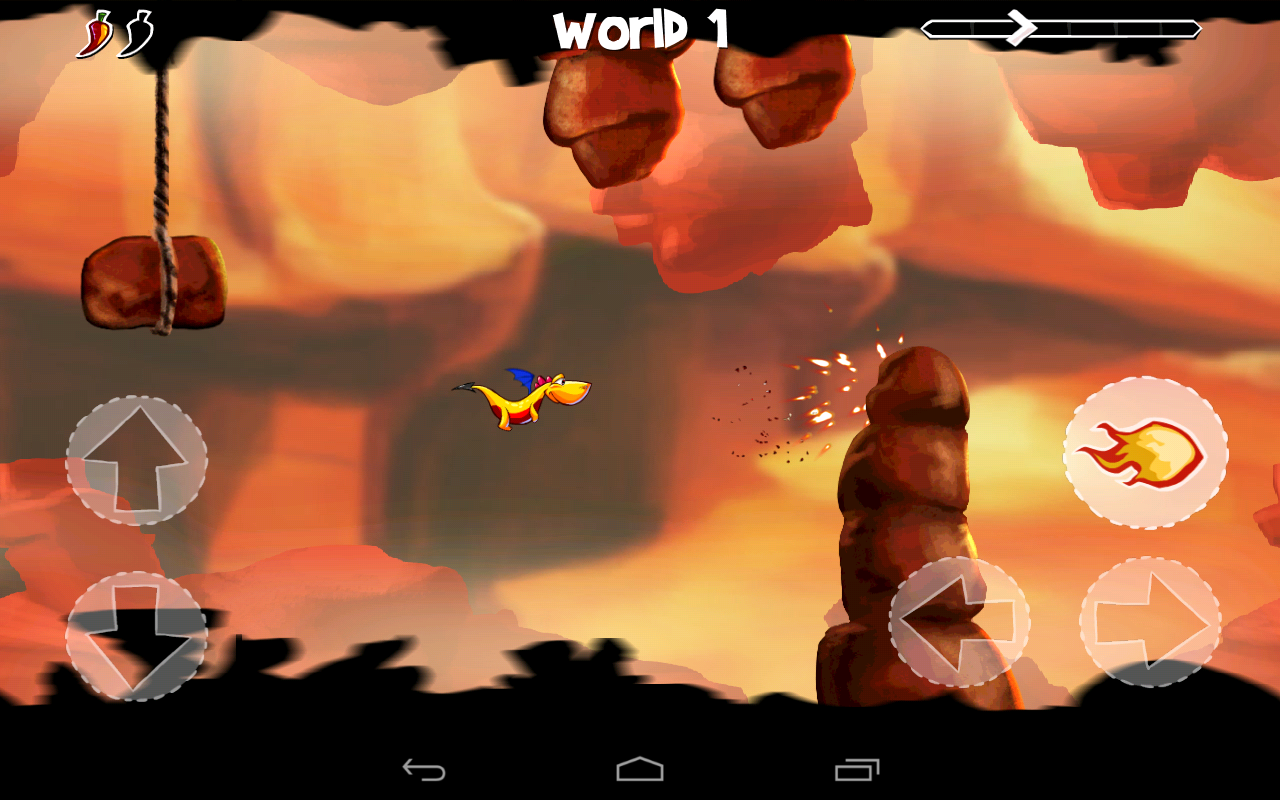 Dracoo the Dragon Free - screenshot