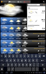 wetter.com Weather HD - screenshot thumbnail