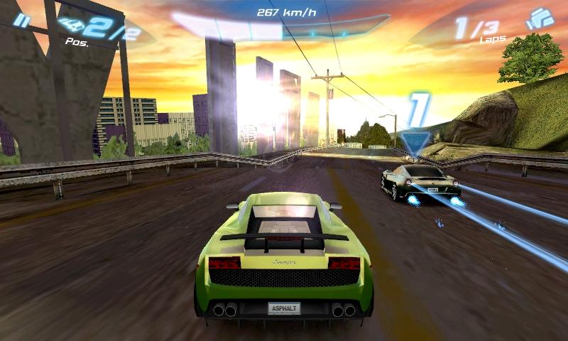 Asphalt 6: Adrenaline HD [v1.0.4 - 3.x.x] [Игры для Android]