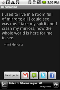 Hendrixisms - screenshot thumbnail