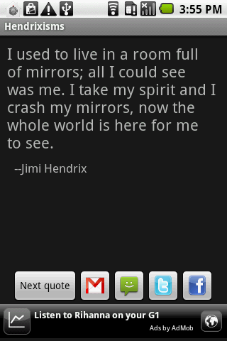 Hendrixisms - screenshot