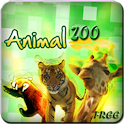Animal Zoo For Kids Free logo