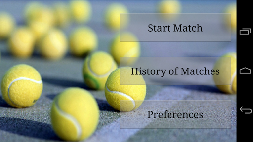 Mobile Score Tennis
