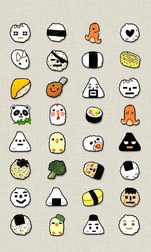 CUKI Theme Rice Ball Icon