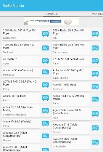 Radios de Francia