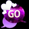 GO SMS - Heart Bliss 6