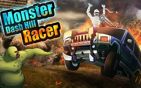 Monster Car Hill Racer Screenshot 21