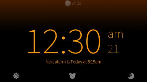 Snüz Alarm - with white noise