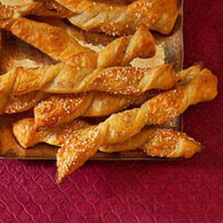 Sesame-Cheddar Twists