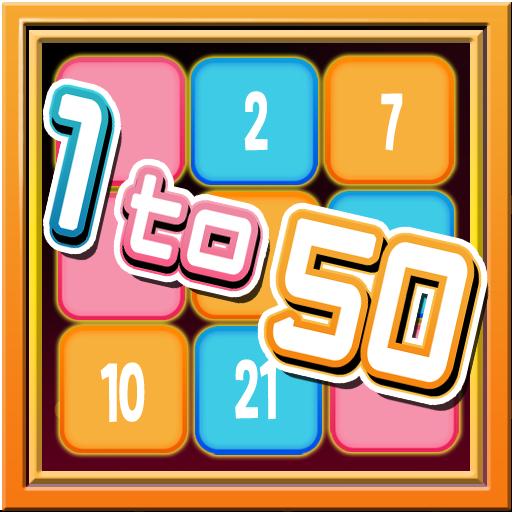 EverPuzzle : 1 to 50 LOGO-APP點子