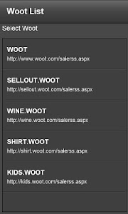 Woot Watcher screenshot 0