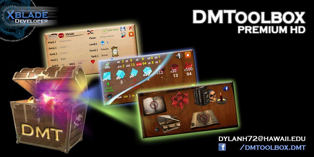 DMToolbox (DMT) - screenshot
