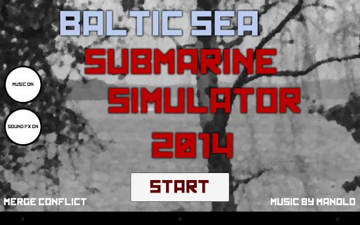 Baltic Sea Submarine Simulator