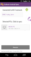 Screenshot of Outlook-Android Sync