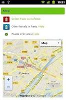 Screenshot of Hotel Search - Hotel Saver