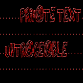 Private Text Untraceable Pro