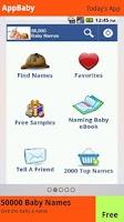 Screenshot of AppBaby