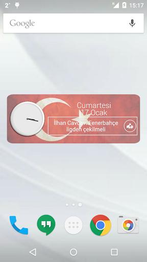 Turkey Clock RSS Widget