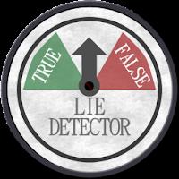 Lie Detector (True or False) 1.3.5