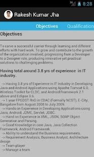 "Resume ""Rakesh Kumar Jha"" - screenshot thumbnail"