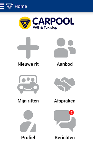 Carpool met VAB Taxistop
