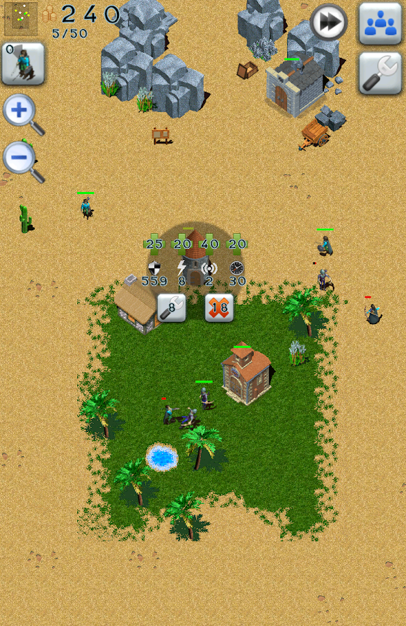 Defense Craft Strategy Free- screenshot