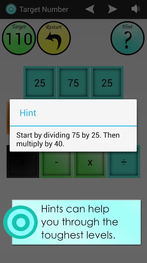 Target Number - screenshot