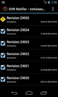 SVN Notifier Lite for Android- screenshot thumbnail