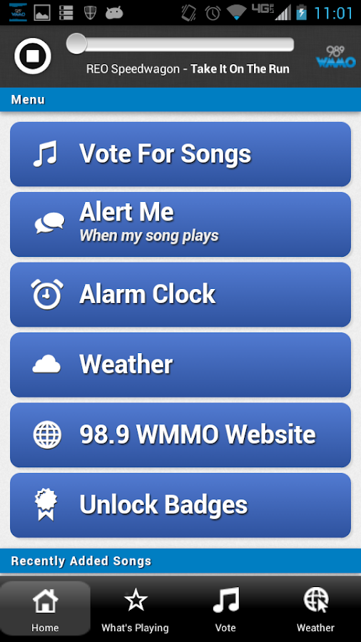 98.9 WMMO - screenshot