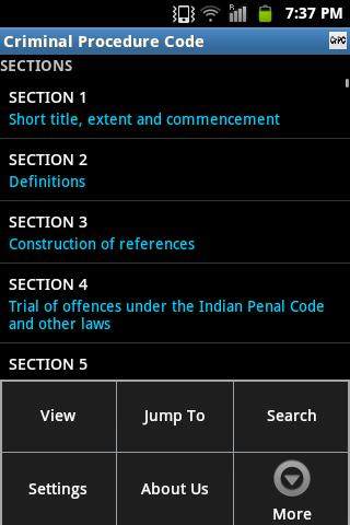 CrPC India- screenshot