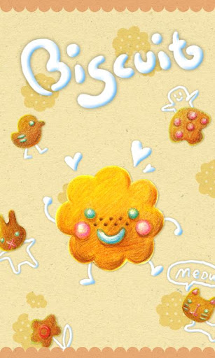 Biscuit GO Launcher Theme