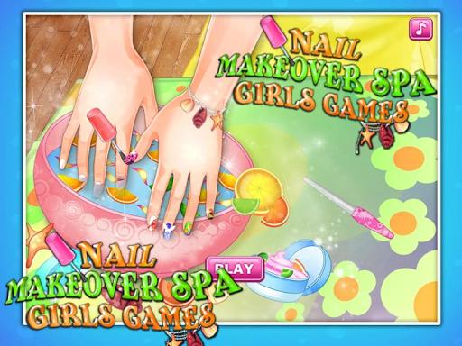 Nail Makeover Spa Free Games